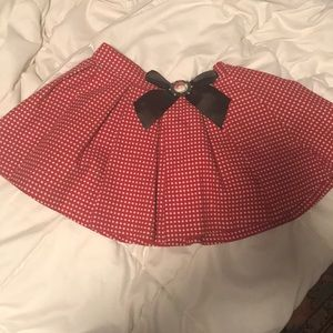 Disneyland Parks Minnie Mouse Skirt M